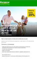Ofertas de Europcar, Ahorra hasta 20%