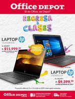 Ofertas de Office Depot, Regresa a Clases - Laptop HP