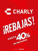 Ofertas de Charly, Rebajas hasta 40% de descuento