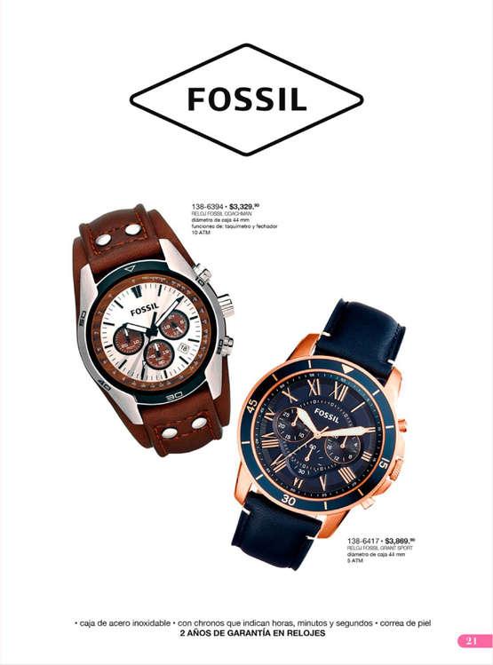 1dc7c9a22764 Reloj Fossil en Xalapa-Enríquez - Catálogos