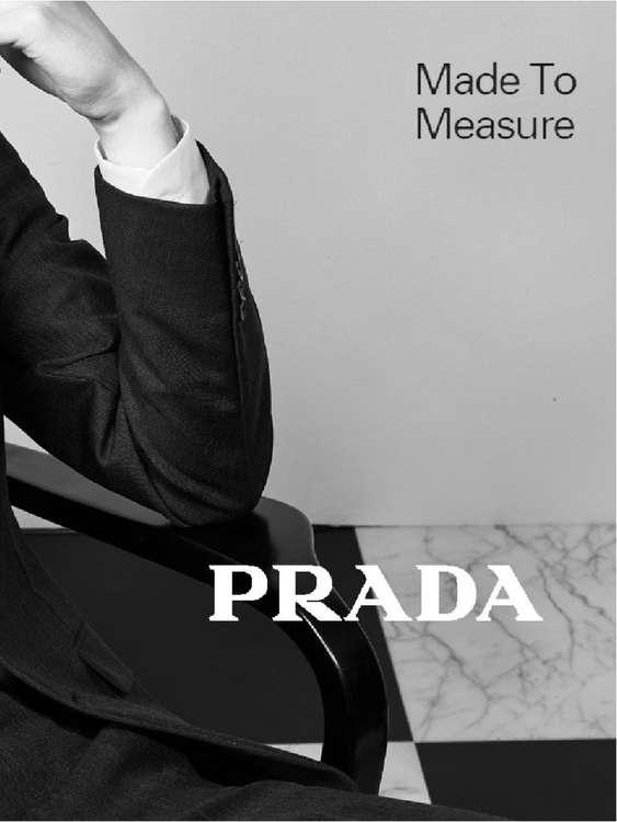 Ofertas de Prada, Made to measure