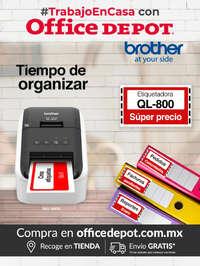 #Trabajo en casa con Office Depot - Brother