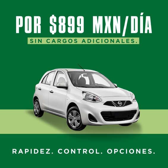 Ofertas de National Car Rental, Rentalo por $899 al día