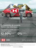 Ofertas de HSBC, Es momento de ponerle freno a los intereses